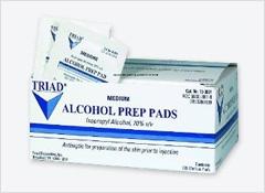 B. Cereus…. contaminated alcohol swabs, pads & swabsticks