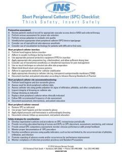SPC Checklist
