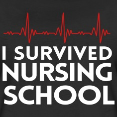 I-survived-nursing-school-Women-s-T-Shirts